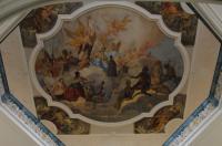 Deckengemälde Klostereingang