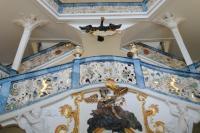 Aufgang Klostereingang